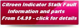 Citroen DAV Com 2000 Indicator stalk repair plunger. Click here for details