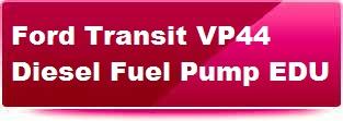 Bosch VP44 diesel pump EDU repair. Click here for details